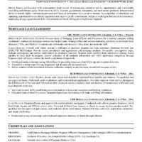 Resume Loan Officer Simple Loan Officer Resume Sample And Sales Operation Manager