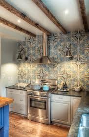 Tile Kitchen Backsplash Create A Decorative Kitchen Backsplash With Cement Tiles