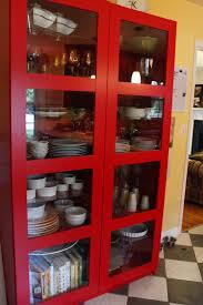 Small Red Bookcase Furniture Home Altra Ladder Bookcase With Desk Alt9802x96 2