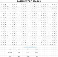 tales of mommyhood printable easter word search