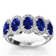 stone bands rings images Color stone rings jpg