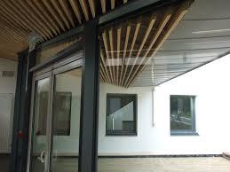 panneaux acoustiques bois dufisol faux plafonds pour milieu de la santé