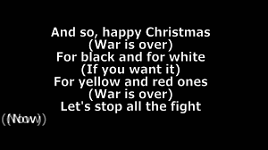 lennon happy war is lyrics hd