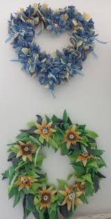 10 best christmas rag wreath images on pinterest rag wreaths