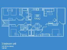 3 bedroom unit floor plans floorplans 1st floor the sapphire