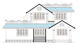 home design drawing drawing of kerala house two storey three bedrooms and 219 square