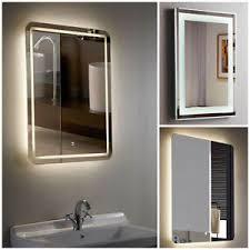 Bathroom Demister Mirror Designer Illuminated Led Bathroom Mirrors With Demister