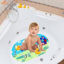 popular baby shower mat buy cheap baby shower mat lots from china 39cmx69cm non slip mat for bathtub and shower baby non slip bath mat anti