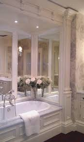 a beautiful traditional bathroom