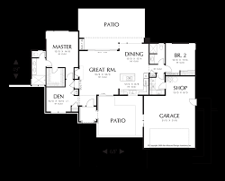 single story house plans and this one story open floor plans