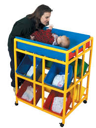 Day Care Changing Table Infant And Toddler Changers Changing Tables For Home