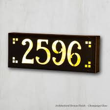 Lighted House Number Sign The 25 Best Illuminated House Numbers Ideas On Pinterest Modern