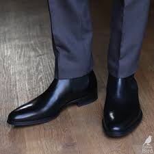 slip on motorcycle boots black chelsea boots with grey suit trousers attire pinterest