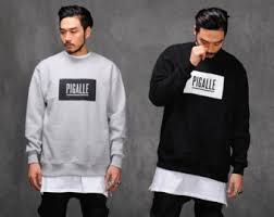 pigalle sweatshirt o neck famous brand hip hop hoodie rock