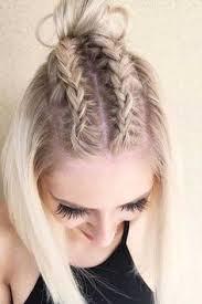 Kurzhaarfrisuren Flechten by Einfache Nette Frisur Für Kurzes Haar Tutorium Hair