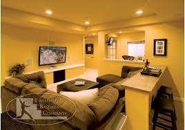 Basement Tv Area Basement Pinterest Basements Basement - Family room in basement