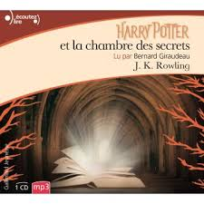 harry potter 2 la chambre des secrets harry potter tome 2 2 cd mp3 8hr lus par bernard giraudeau