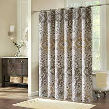 Fabric Shower Curtain With Window Shower Curtains Ufriday Fabric Shower