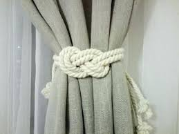 Rope Curtain Tie Back Curtain Tie Back Tiebacks For Curtains 2 Curtain Tie Backs Nursery
