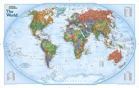 National Geographic Map National Geographic Maps World Explorer Wall Map U0026 Reviews Wayfair