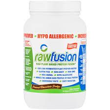 san rawfusion fusion vegan protein powder dairy soy animal free