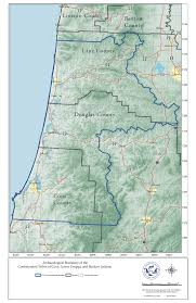 Yachats Oregon Map by History Of Native Americans In The Umpqua Region Oregonexplorer