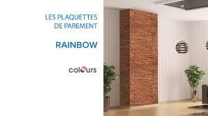 Bordure Bois Castorama by Plaquette De Parement Rainbow Colours 679489 Castorama Youtube