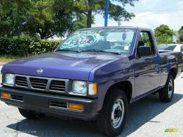 gray nissan truck 1996 royal blue metallic nissan hardbody truck regular cab