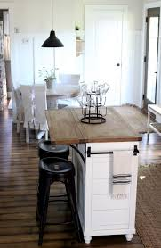 kitchen islands for small kitchens stock island makeover kitchen in neutrals with white wood and