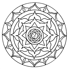 Buddhist Mandala Coloring Pages Coloring Page Buddhist Mandala Buddhist Coloring Pages