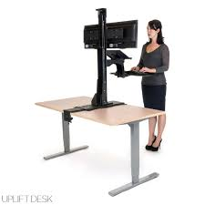 standing desk converter touch standing desk converter with gas