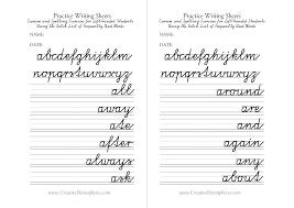 12 best images of left handed cursive chart cursive letters