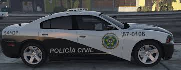 dodge charger from fast 5 dodge charger policia civil fast five texture gta5 mods com