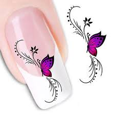 nail stickers butterfly 3d design nail stickers manicure
