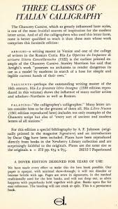 calligraphy writing paper three classics of italian calligraphy oscar ogg 9780486202129 three classics of italian calligraphy oscar ogg 9780486202129 amazon com books