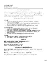 free resume objective exles for teachers resume sle online english teacher best of substitute teacher