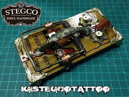 hand made tattoo foot switch rat trap by stegco on deviantart