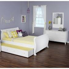 White Bedroom Storage Bench Bedroom Design Olivia Piece Full Sleigh Trundle Bed Set Modern
