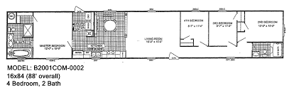 2001 patriot mobile home floor plans