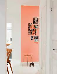 peinture mur cuisine tendance couleur mur cuisine orange inspirant la couleur saumon les