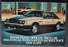 1979 ford mustang pace car 1979 mustang pace car ebay