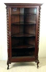 Corner Bookcase Oak Antique Corner Bookcase Oak Corner Bookcase Antique Photo Antique