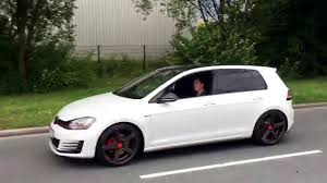 golf 7 gti mit clubsport s esd with clubsport s muffler youtube