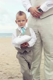 ring bearer wedding attire ring bearer in matching color and vest and tie color as
