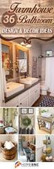 best ideas about rustic bathroom designs pinterest beautiful farmhouse bathroom design and decor ideas you will crazy for