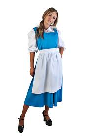 belle for halloween amazon com blue belle costume size standard clothing