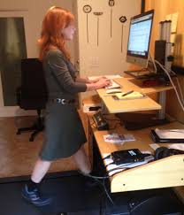 Diy Treadmill Desk Diy Treadmill Desk Standing Healthier Working With Diy Treadmill