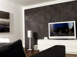 wohnzimmer fernsehwand stunning steinwand wohnzimmer schwarz ideas house design ideas