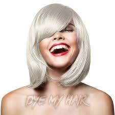 silver blonde color hair toner silver hair dye semi permanent dark gray color silver hair toner