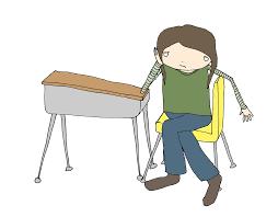Kid At Desk by Kid Teetersaw